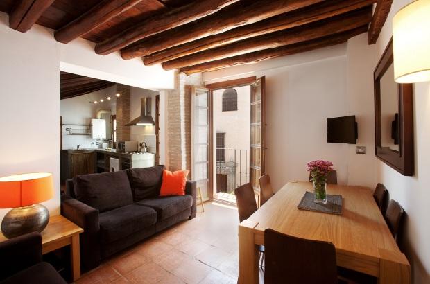 living room apt 2B