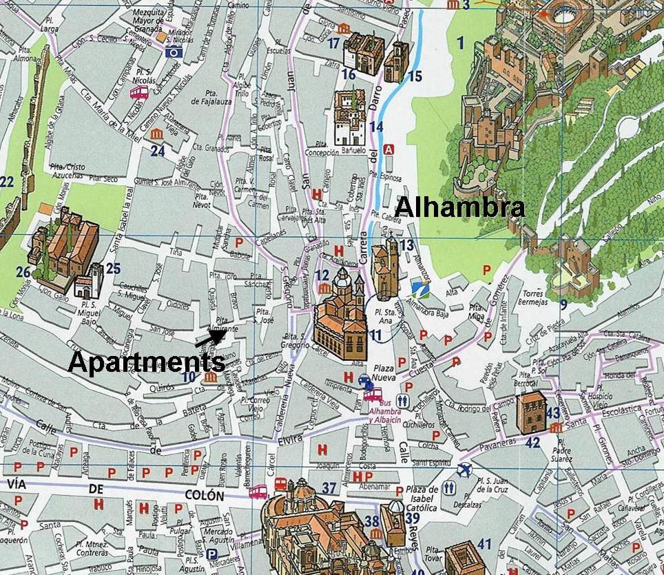 San Jos 233 Holiday Apartments Granada Tasteful Vacation